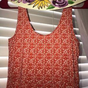 Orange mini dress super soft 95% cotton!!